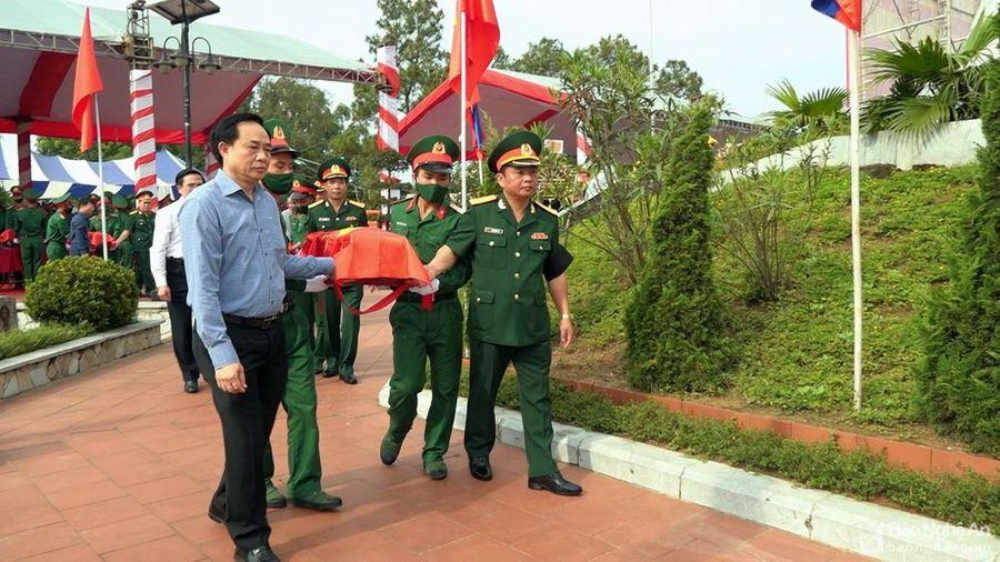 Nghệ An: Đẩy nhanh tiến độ tìm kiếm, quy tập hài cốt liệt sĩ hy sinh ở Lào