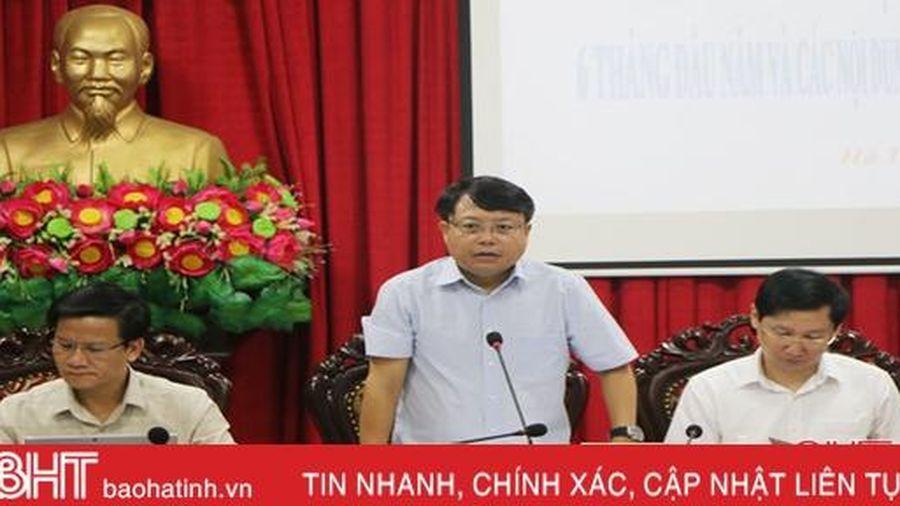 Thành phố Hà Tĩnh thúc đẩy các giải pháp trọng tâm gắn với chào mừng Đại hội Đảng