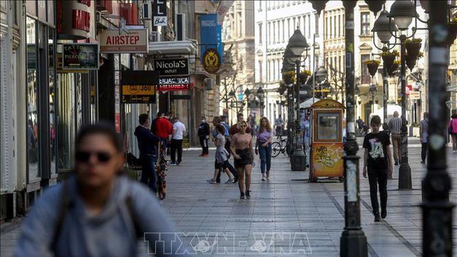 Serbia ban bố tình trạng khẩn cấp ở thủ đô Belgrade