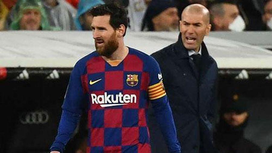 Messi được HLV Real Madrid 'nài nỉ' ở lại Barca