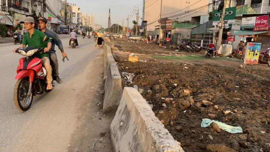 TP.HCM: Mở rộng 2,5km đường Lương Định Của, 5 năm chưa xong