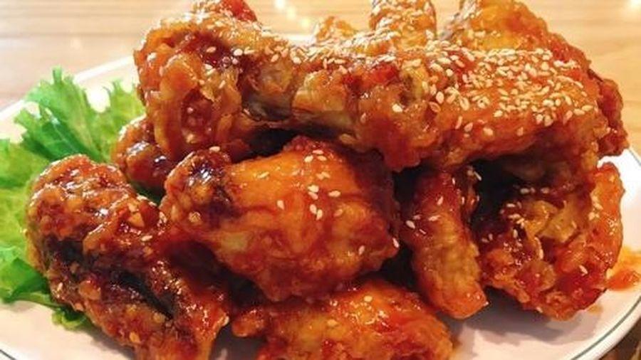 Cuối tuần, làm ngay món cánh gà rán kiểu Hàn thơm ngon giòn rụm đãi cả nhà
