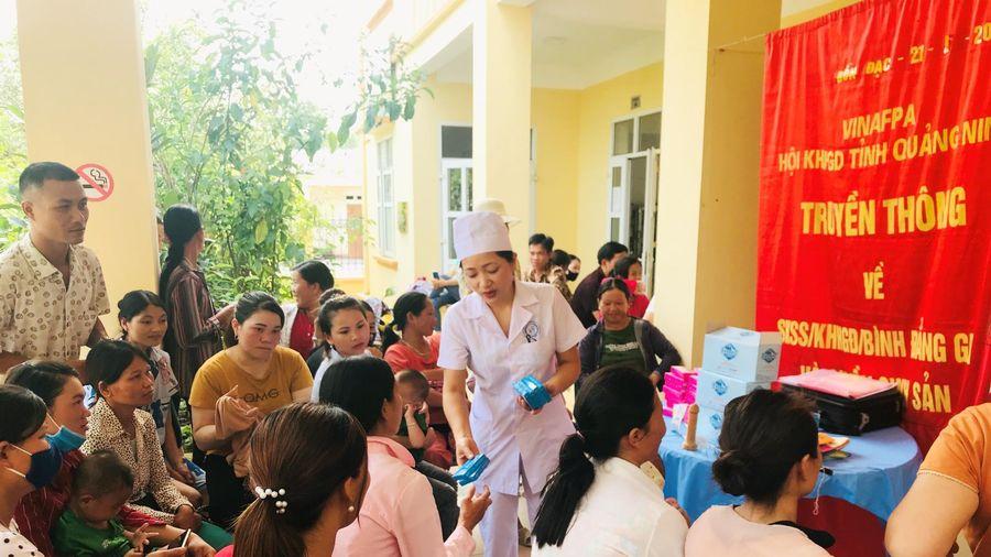 Chăm sóc sức khỏe sinh sản cho người dân