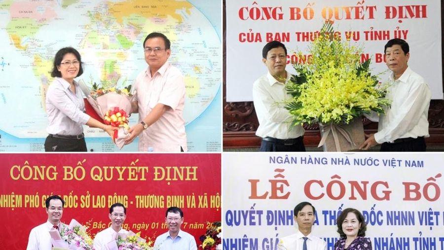 Bắc Giang, Tiền Giang, Trà Vinh bổ nhiệm nhân sự mới