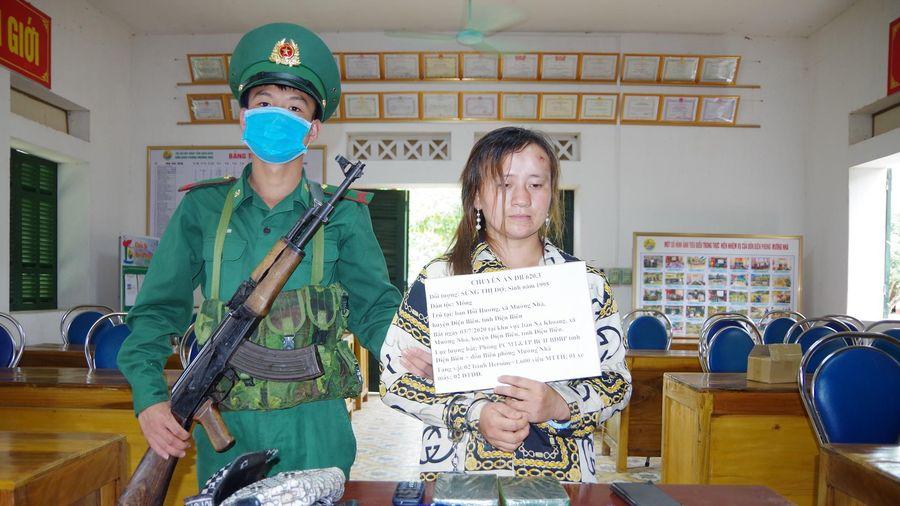 Thiếu nữ người Mông vận chuyển thuê 2 bánh heroin và 1.600 viên ma túy