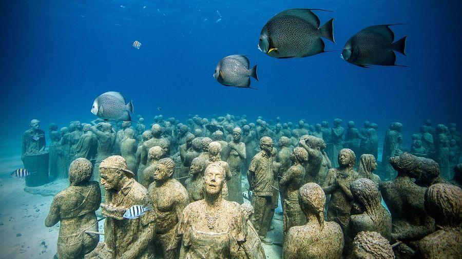 Khám phá bảo tàng điêu khắc dưới đáy đại dương