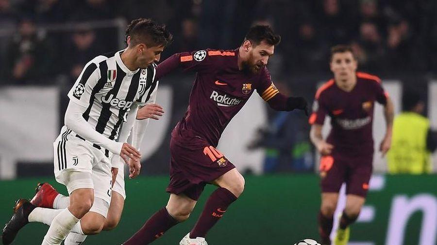Messi bỏ Barca về đá cặp với Ronaldo ở Juventus
