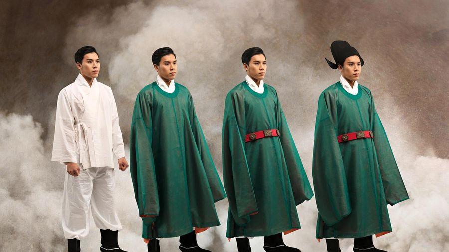 Có phải thời Lê Sơ, người dân không mặc áo dài, khăn đóng?