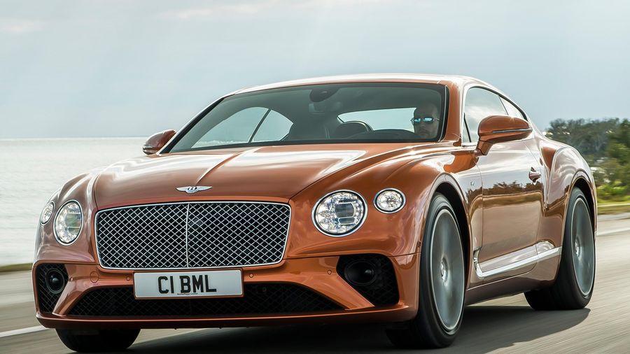 Bentley Continental GT có 10 tỷ kiểu phối màu ngoại thất