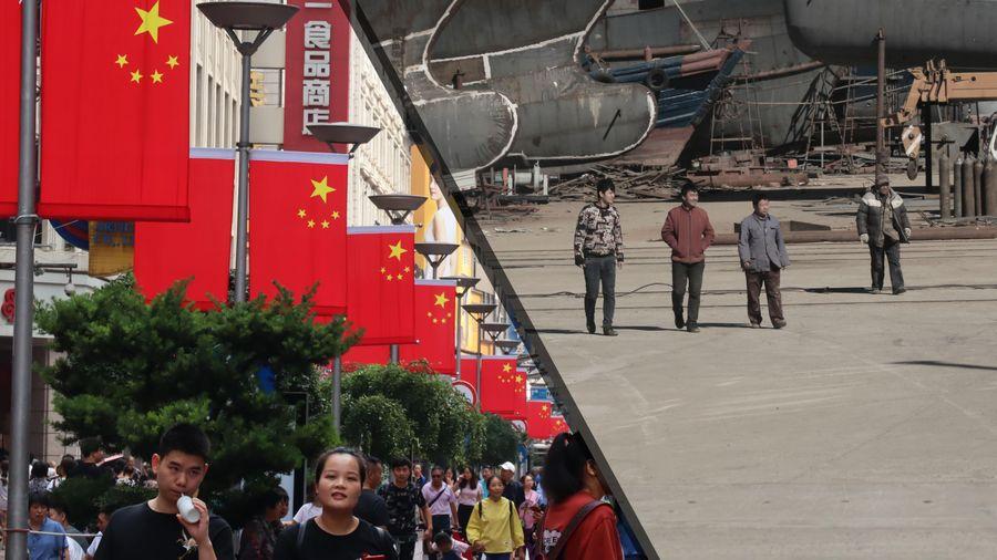 Khoảng cách Nam - Bắc ở Trung Quốc ngày càng nới rộng
