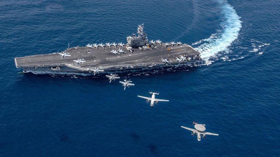 Hai tàu sân Mỹ xuất hiện là thông điệp cứng rắn với TQ ở Biển Đông