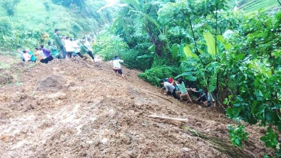 Huyện Phong Thổ (Lai Châu): Dốc toàn lực tìm kiếm 1 trường hợp bị mất tích do mưa lũ