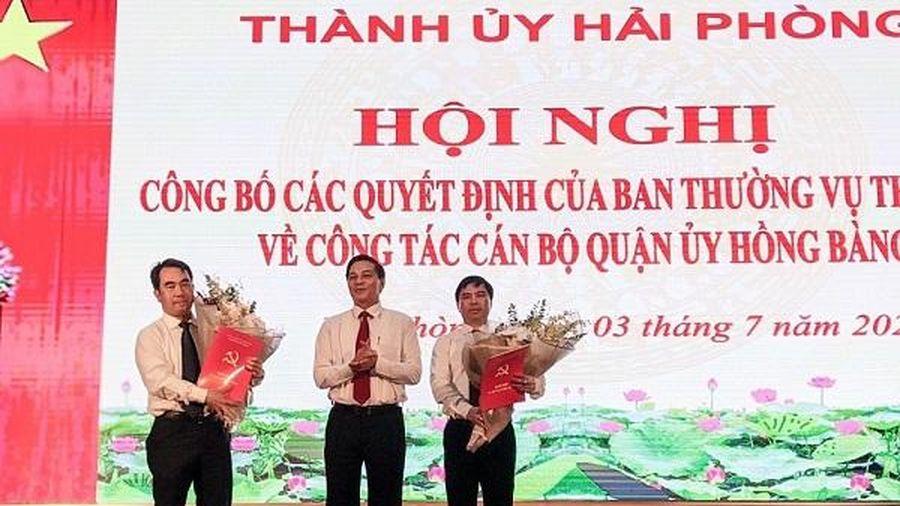 Hải Phòng: Sau kỷ luật khiển trách, Chủ tịch UBND quận Hồng Bàng bị điều chuyển làm Phó Giám đốc Sở