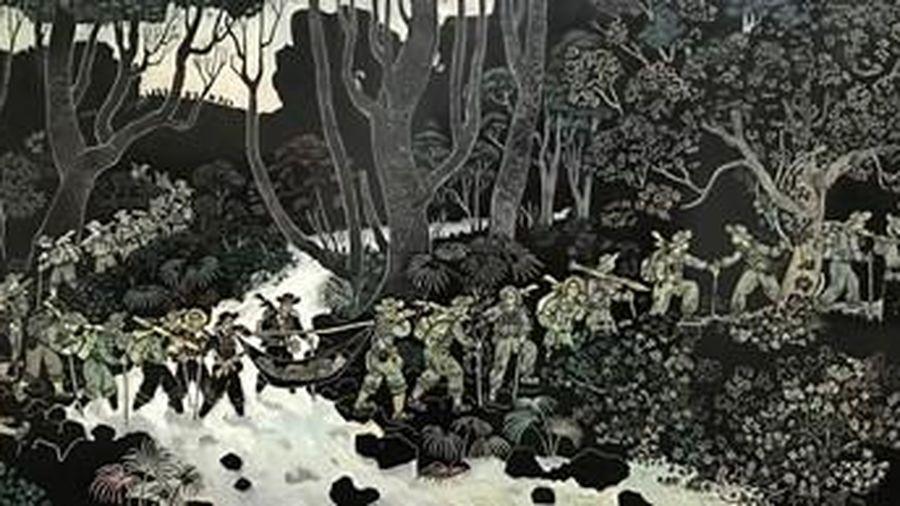 Triển lãm các tác phẩm đồ họa nổi bật của họa sĩ Trần Văn Quân