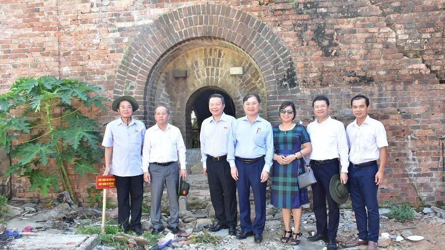 Cần tôn tạo những công trình kiến trúc phát lộ trên Kinh thành Huế