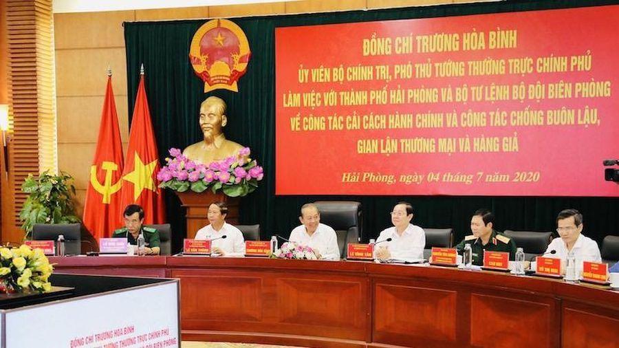 Phó Thủ tướng Thường trực Trương Hòa Bình: Hải Phòng phải đi đầu trong cải cách hành chính