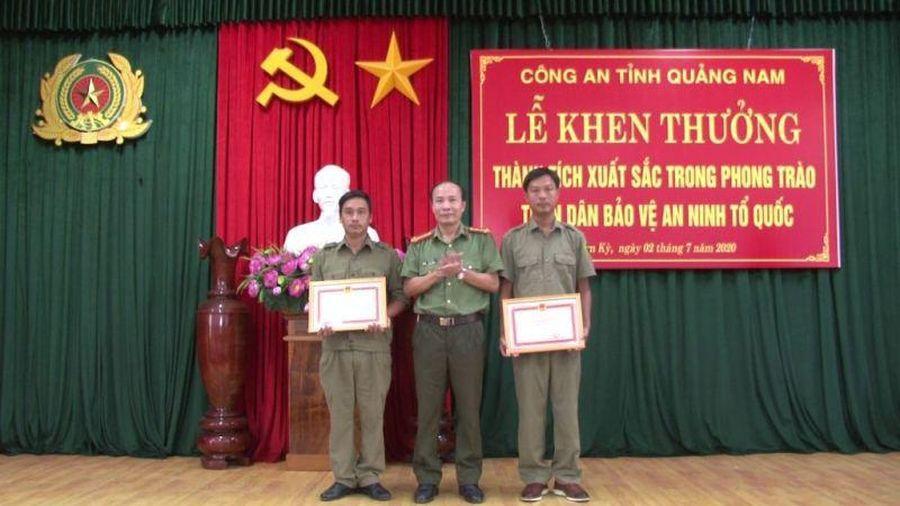 Quảng Nam khen thưởng người báo tin bắt Triệu Quân Sự