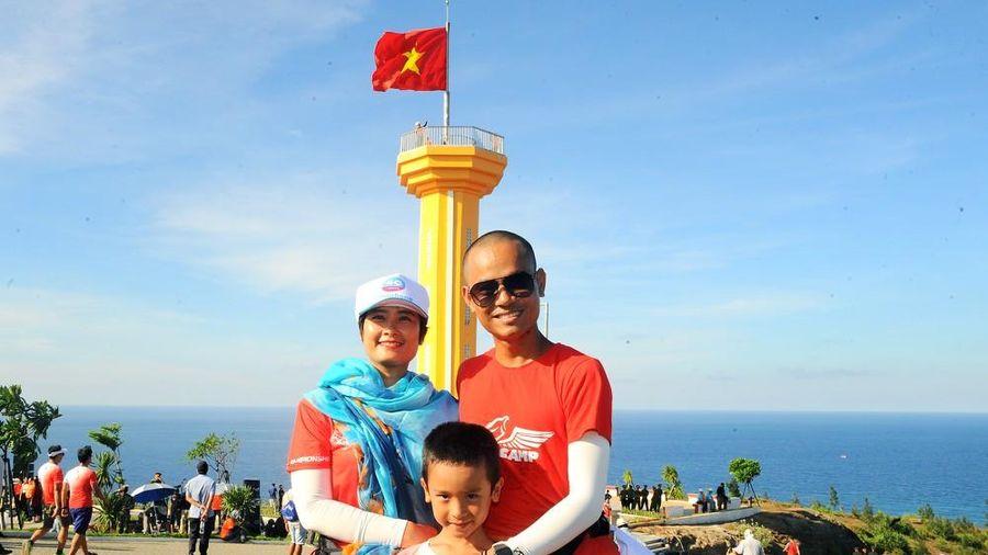 Gia đình VĐV Thái Bình tự tin chinh phục đường đua