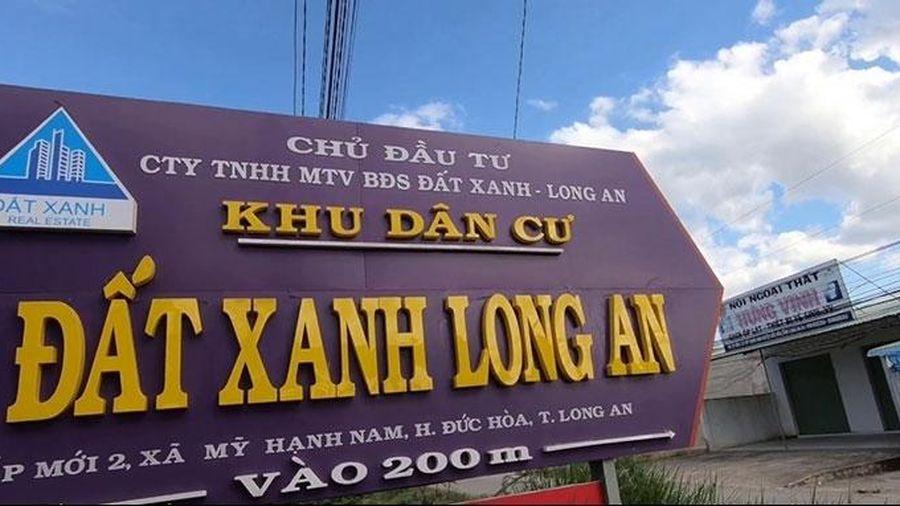'Đất Xanh Long An' bị chuyển hồ sơ sang cơ quan điều tra không phải công ty của Tập đoàn Đất Xanh