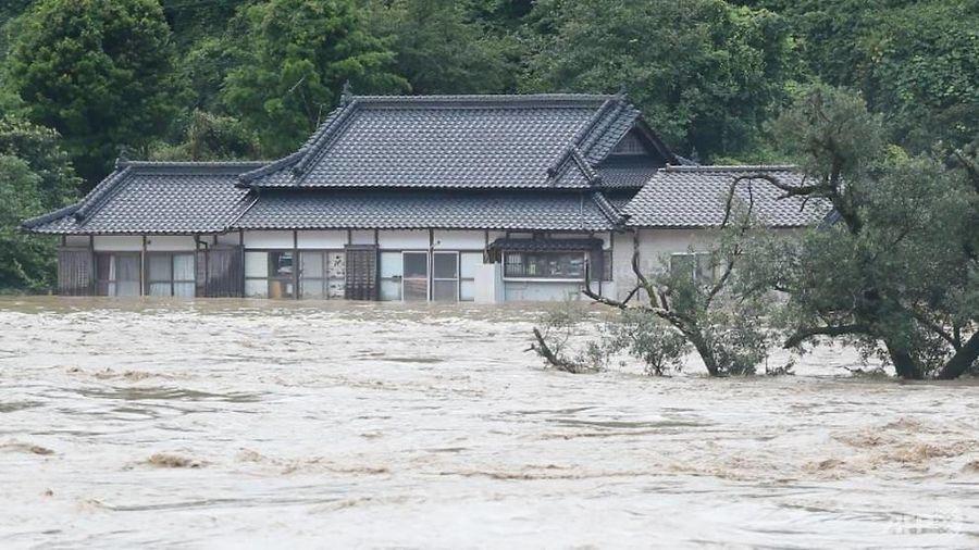 Mưa lớn bất ngờ đổ xuống Nhật Bản, ít nhất 15 người thiệt mạng
