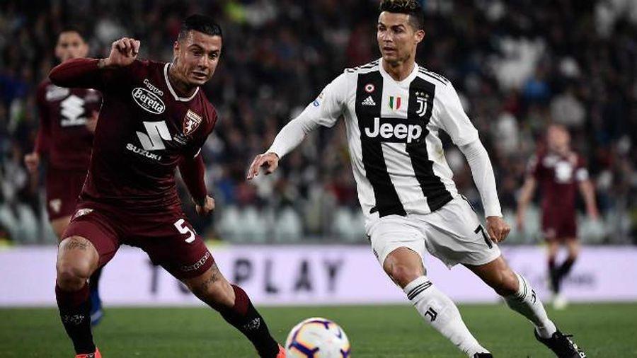Trực tiếp Juventus vs Torino: Không thể cản Ronaldo