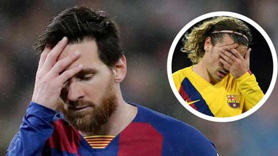 Cựu sao Barca xúi Griezmann... tát vào mặt Messi