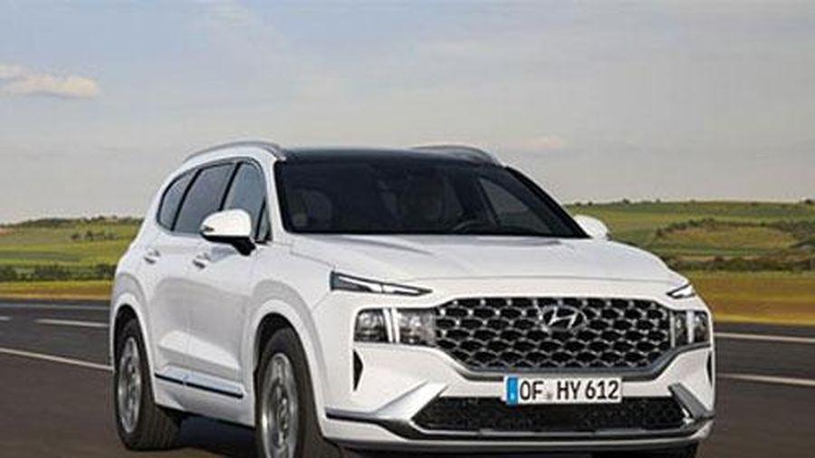 Soi Hyundai Santa Fe 2021 thiết kế hầm hố, giá hơn 600 triệu, đấu Toyota Fortuner, Ford Everest