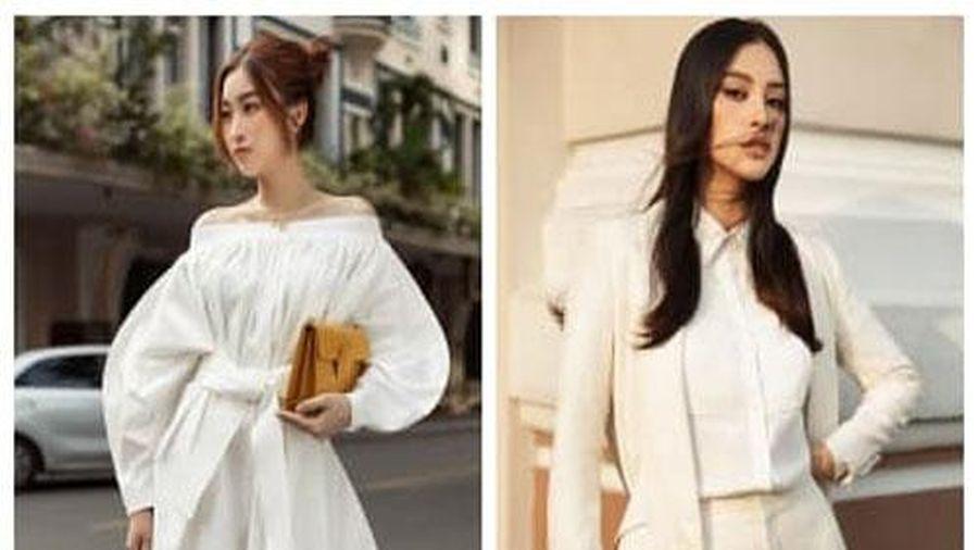 Đỗ Mỹ Linh và Tiểu Vy đối lập với phong cách streetstyle: Người cá tính menswear, người nữ tính thanh lịch