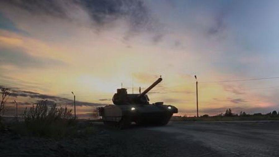Xe tăng T-14 Armata đã được thử nghiệm ở chế độ không người lái