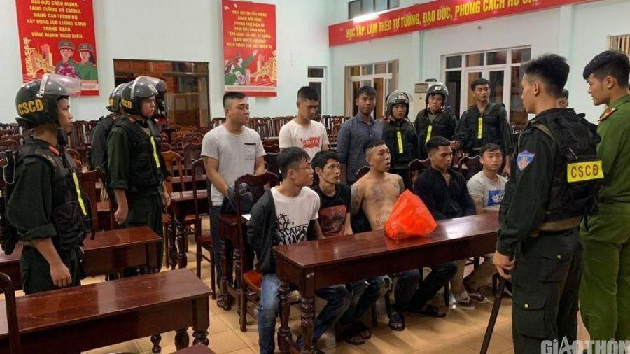 Củng cố hồ sơ truy nã hai đối tượng cầm đầu 2 băng nhóm hỗn chiến ở Đắk Lắk