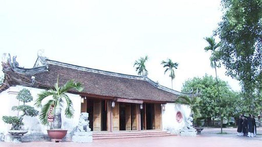 Bắc Giang: Hỗ trợ 10 tỷ đồng để hỗ trợ kinh phí tu bổ di tích lịch sử - văn hóa