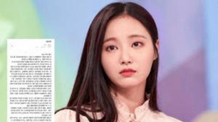 Bị gắn mác kẻ phản bội, Yeonwoo (MOMOLAND) viết tâm thư khẩn thiết mong Knet dừng lại