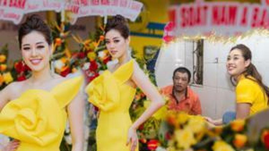 Hoa hậu Khánh Vân tích cực hoạt động cộng đồng, ghi điểm mạnh khi đến Miss Universe 2020
