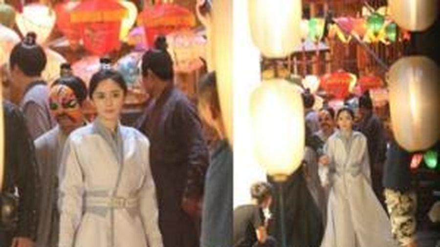 'Hộc Châu phu nhân' lộ tạo hình giả trai của Dương Mịch: Vừa gầy, vừa trông giống hệt thời đóng 'Phù Dao'