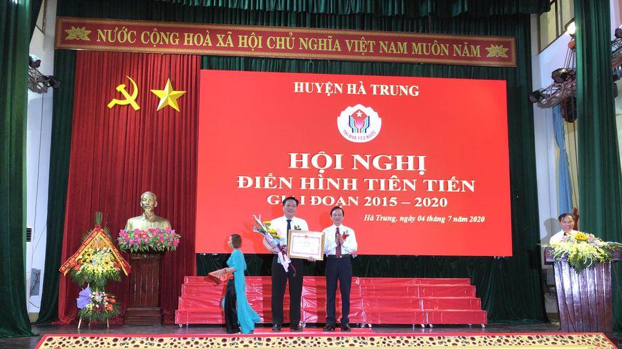 Huyện Hà Trung biểu dương điển hình tiên tiến giai đoạn 2015-2020