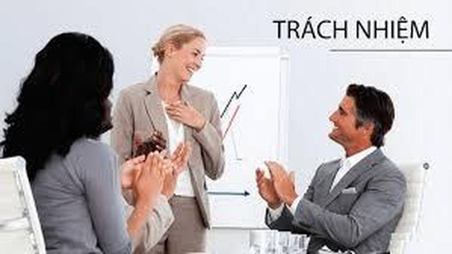 Cách nhận biết nhân viên có tinh thần trách nhiệm trong công việc