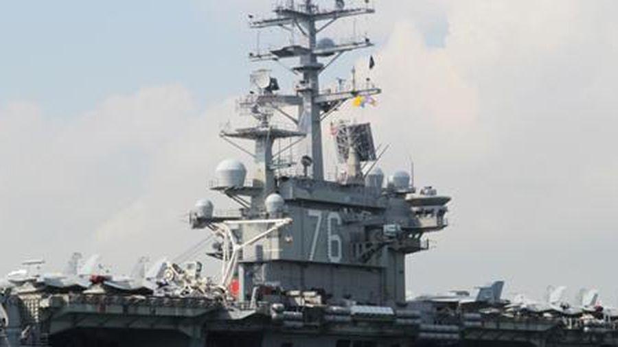Mỹ điều tàu sân bay đến Biển Đông ngay khi Trung Quốc tập trận