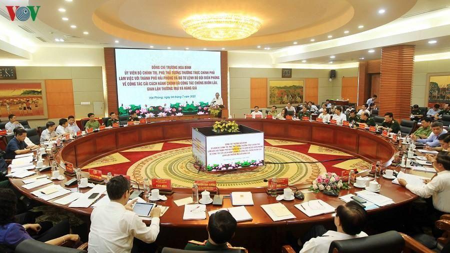 PTT Trương Hòa Bình: Không có vùng cấm trong chống buôn lậu