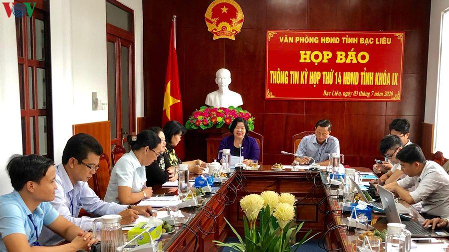 Kỳ họp HĐND tỉnh Bạc Liêu sẽ quyết định nhiều nội dung quan trọng