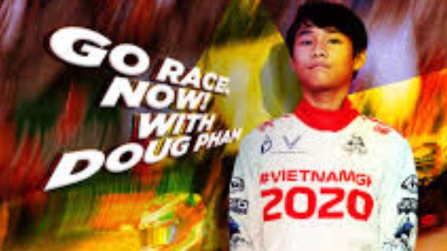 Cậu bé 13 tuổi là tay đua đầu tiên của Việt Nam tham dự giải đua ô tô quốc tế