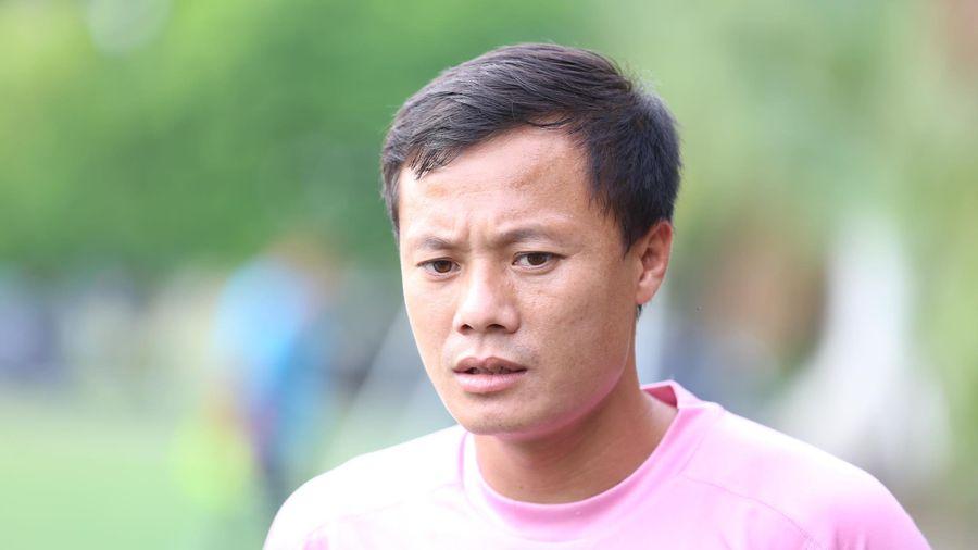 Thành Lương: 'Văn Hậu trở về là điều đáng mừng cho Hà Nội FC'