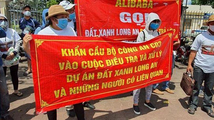 'Đất Xanh Long An' bị chuyển công an điều tra không phải của Đất Xanh Group