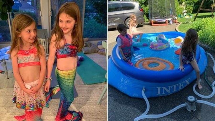 Bé gái suýt chết đuối vì bộ đồ hóa trang nàng tiên cá và lời cảnh báo đến các bậc cha mẹ