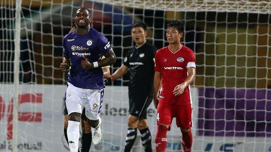 Hòa 1-1, Hà Nội chia điểm Viettel trong ngày làm khách sân Hàng Đẫy