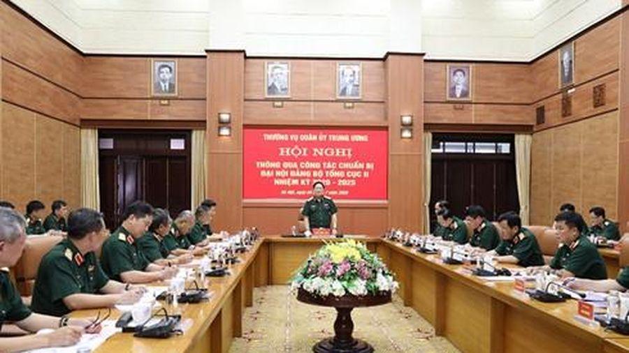 Chuẩn bị công phu và chặt chẽ Đại hội Đảng bộ khóa mới của Tổng cục II - Bộ Quốc phòng