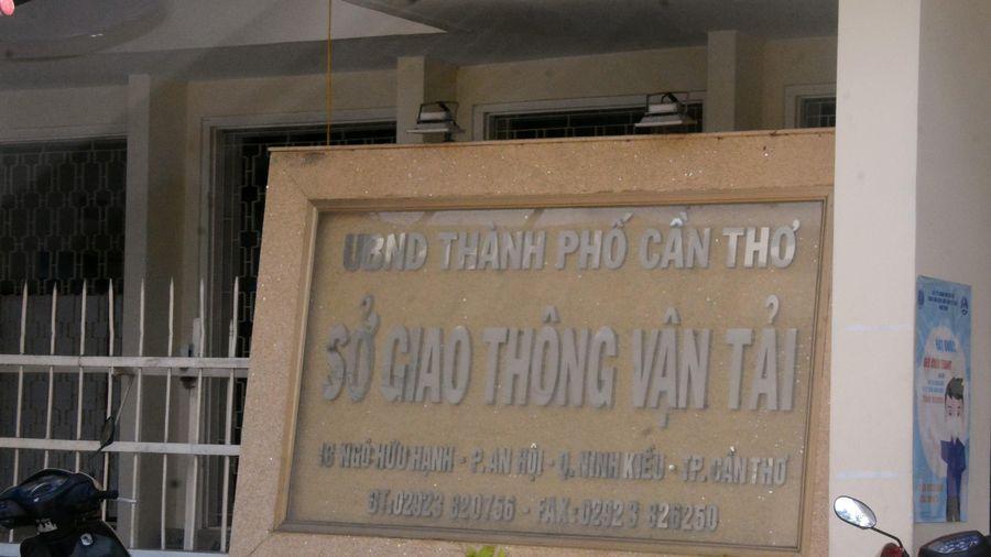 Công tác tiếp dân của Giám đốc Sở GTVT Cần Thơ chưa đảm bảo