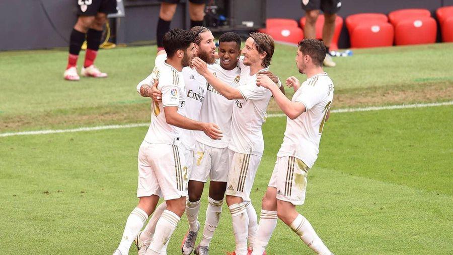 Ramos tiếp tục ghi bàn, Real Madrid tạm hơn Barca 7 điểm