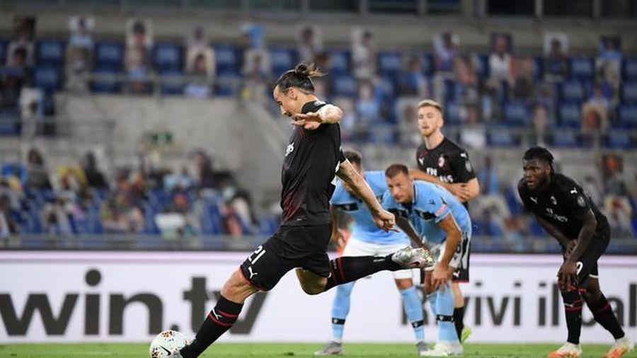 Ibrahimovic ghi bàn, đem lại niềm vui cho Ronaldo và Juventus