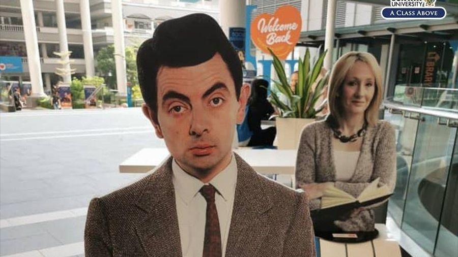 Trường cho sinh viên ngồi cạnh Taylor Swift, Mr.Bean khi quay lại lớp