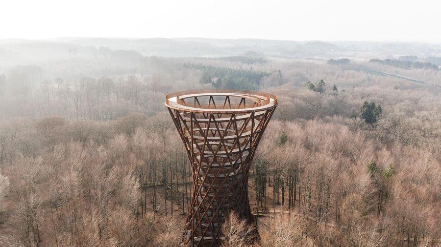 Đài quan sát 360 độ xoắn ốc ở Đan Mạch